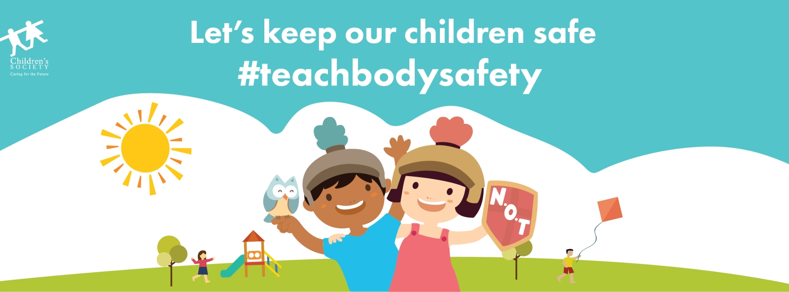 Body Safety for Children Banner - Singapore Children's Society