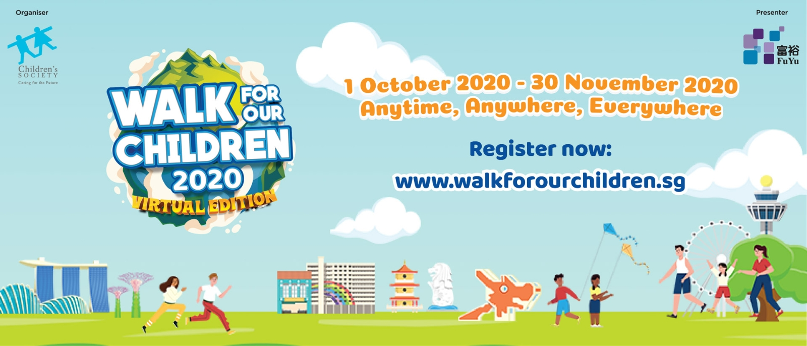 Walk for Our Children 2020 (Virtual Edition)