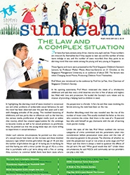 Sunbeam Newsletter Dec 2009