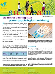 Sunbeam Newsletter Sep 2010